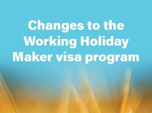 Working Holiday Maker visa program